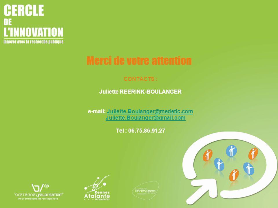 Juliette REERINK-BOULANGER e-mail: Juliette.Boulanger@medetic.com