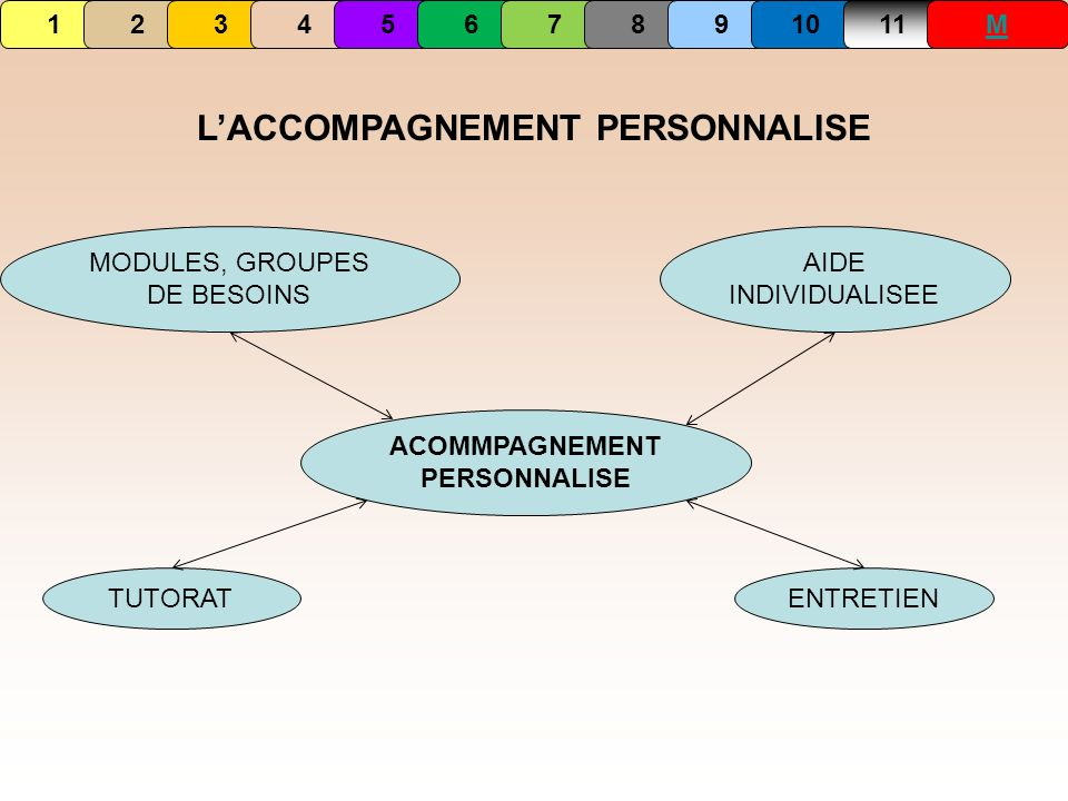 L'ACCOMPAGNEMENT PERSONNALISE ACOMMPAGNEMENT PERSONNALISE