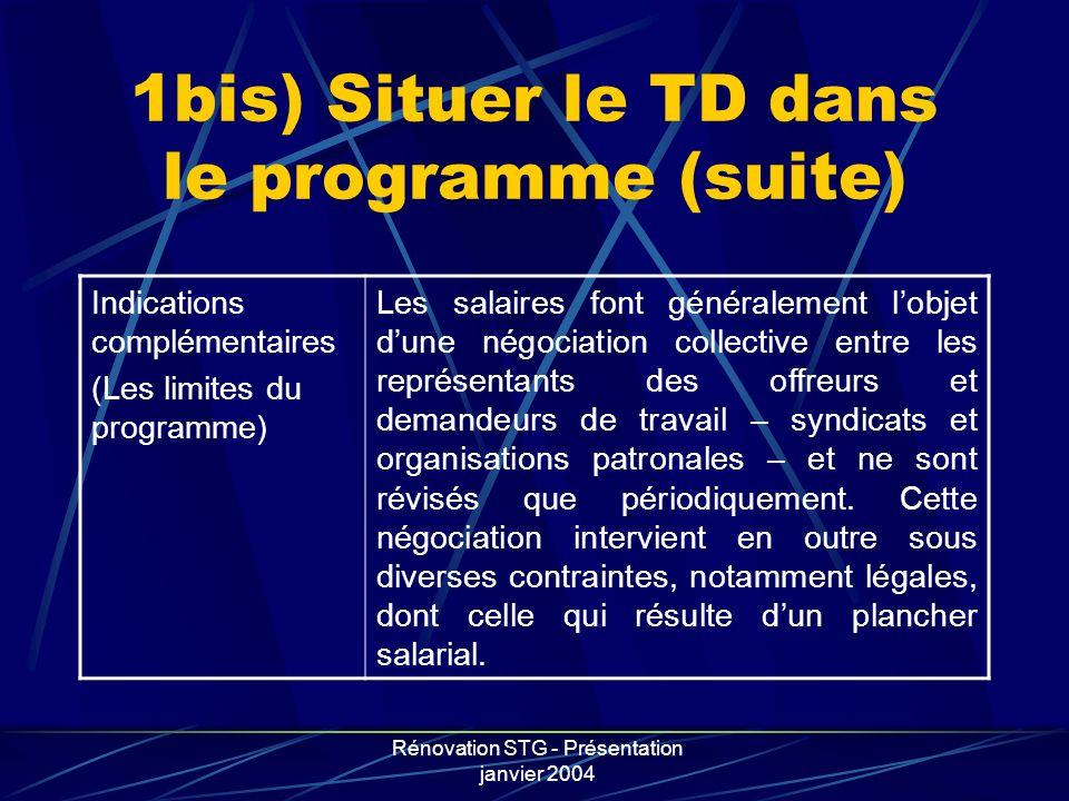 1bis) Situer le TD dans le programme (suite)