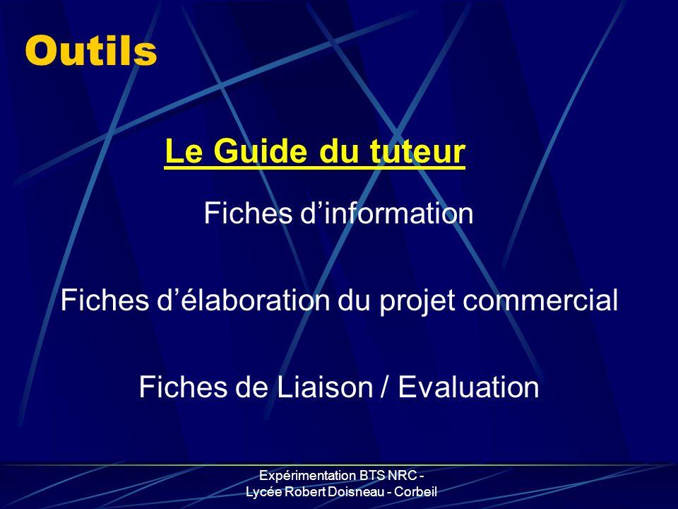 Outils Le Guide du tuteur Fiches d'information