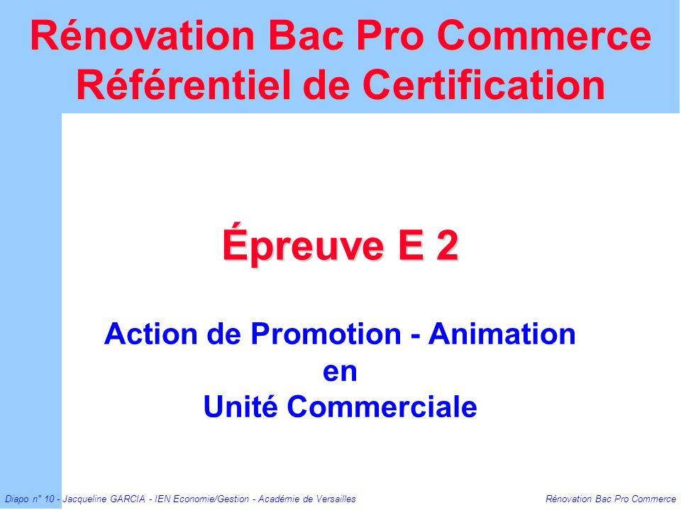 Action de Promotion - Animation en Unité Commerciale