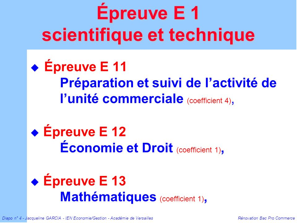 scientifique et technique