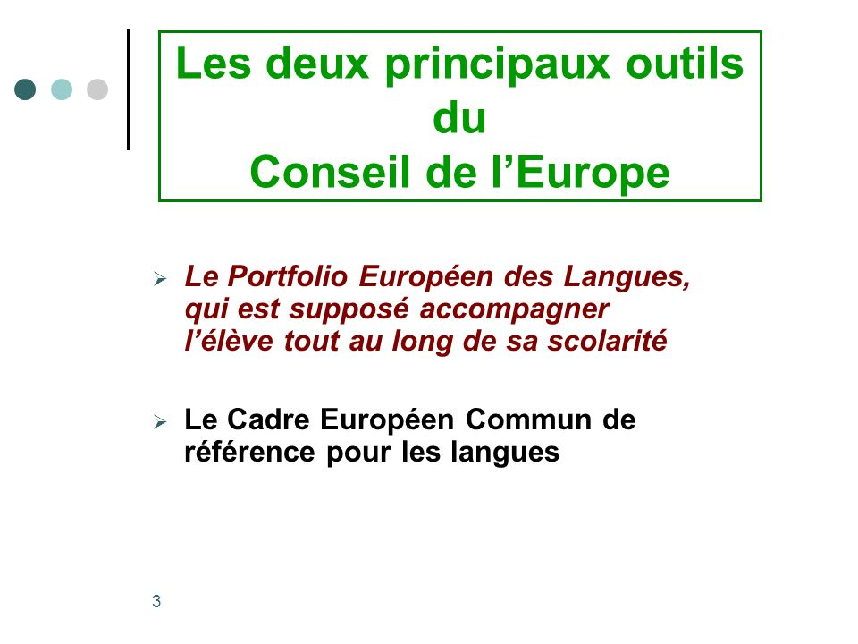 Les deux principaux outils du Conseil de l'Europe