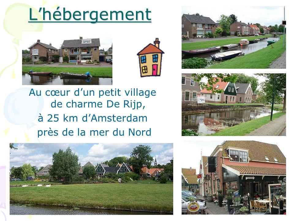Au cœur d'un petit village de charme De Rijp,