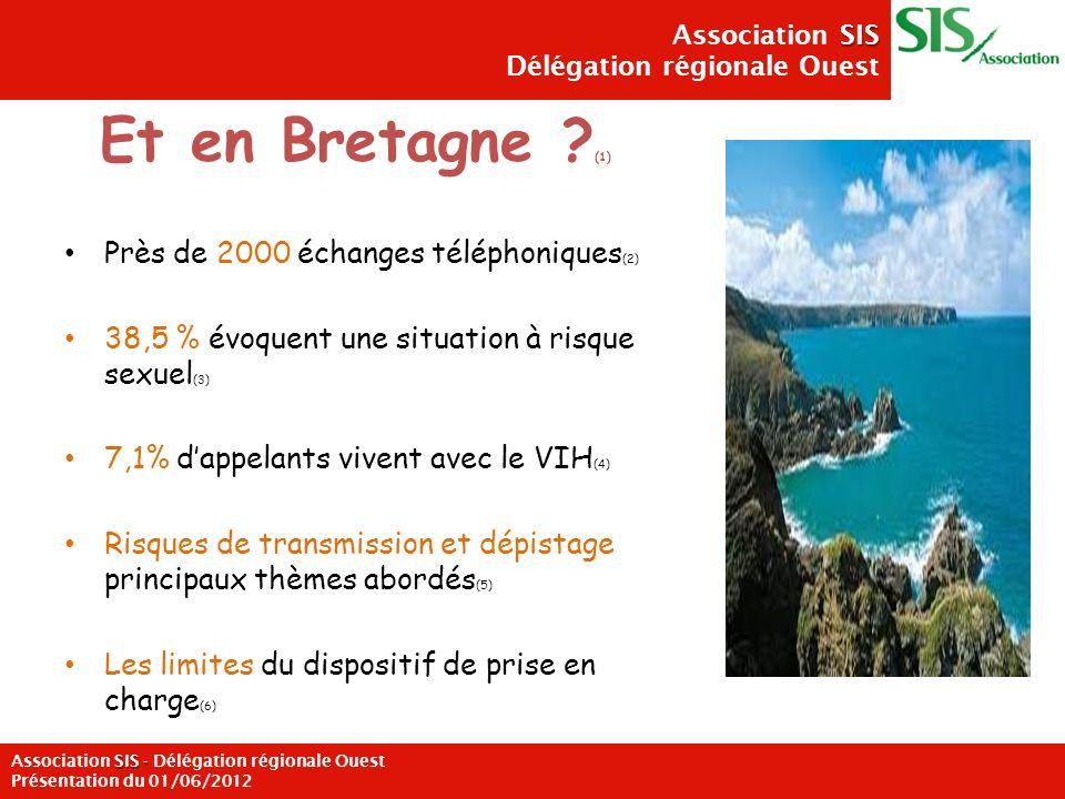 Et en Bretagne (1) Près de 2000 échanges téléphoniques(2)