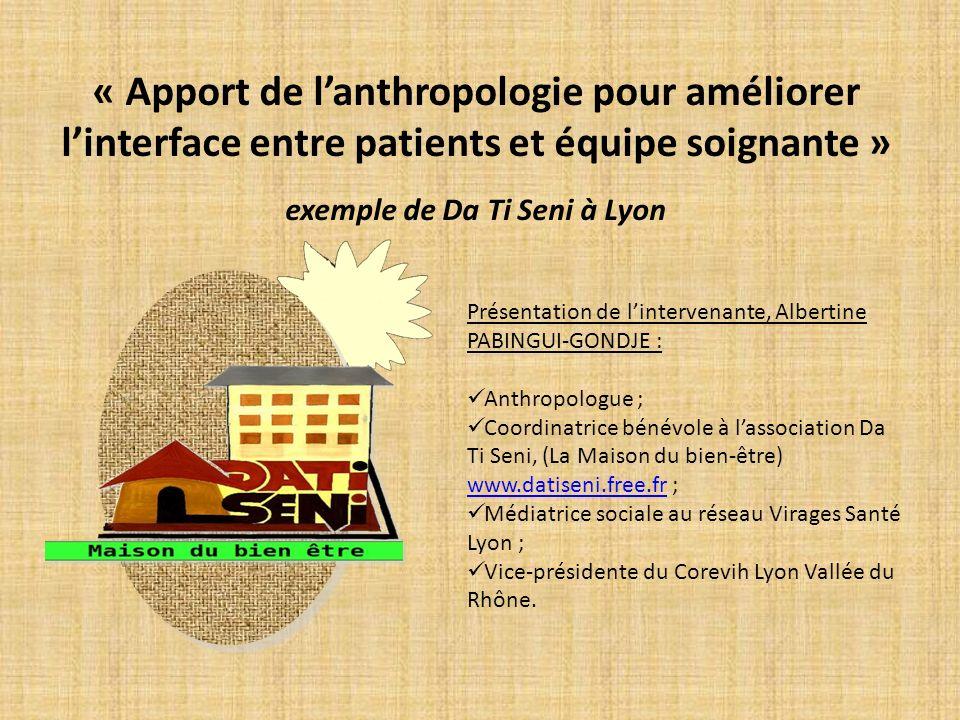 exemple de Da Ti Seni à Lyon