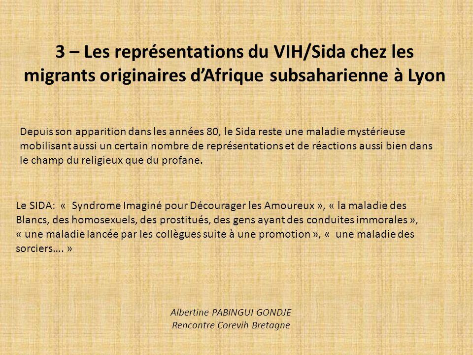 Albertine PABINGUI GONDJE Rencontre Corevih Bretagne