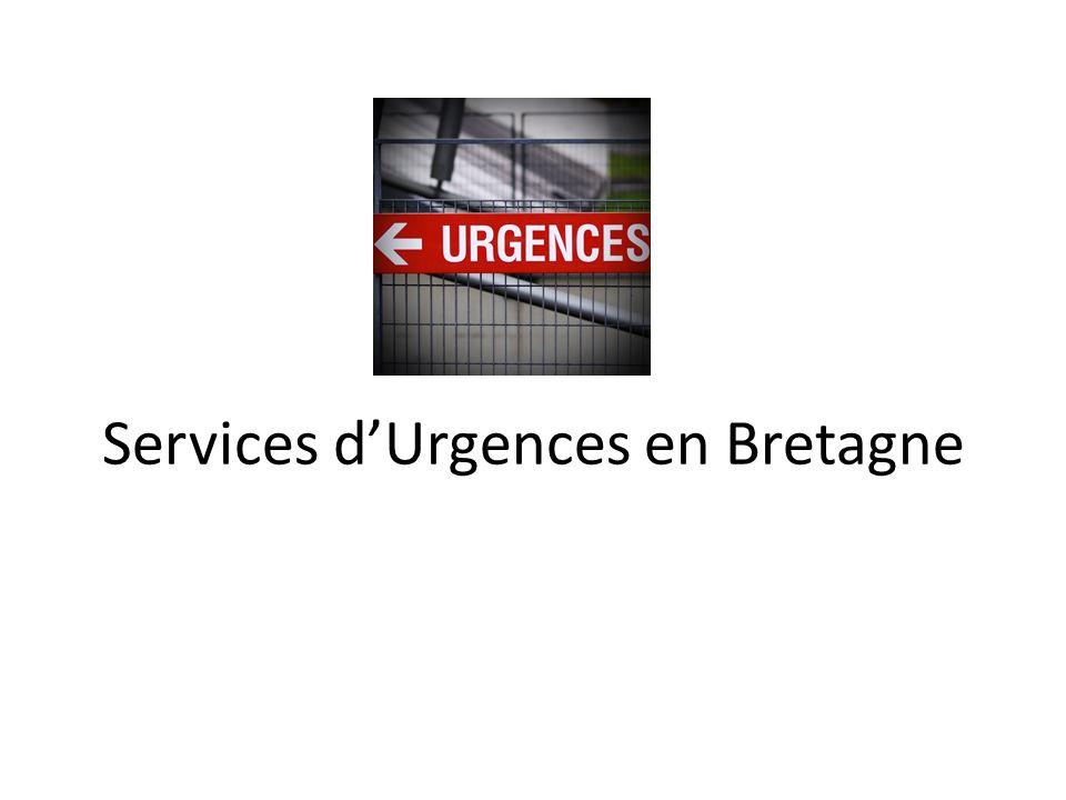 Services d'Urgences en Bretagne