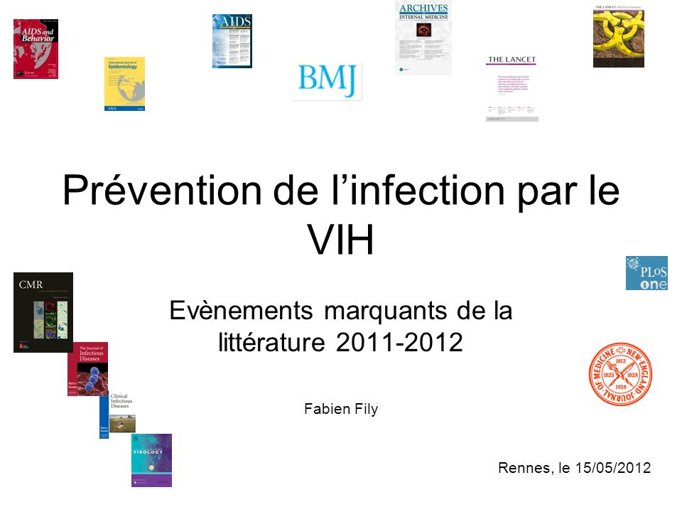 Prévention de l'infection par le VIH