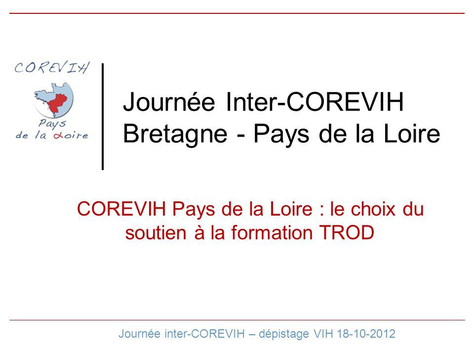 Journée Inter-COREVIH Bretagne - Pays de la Loire