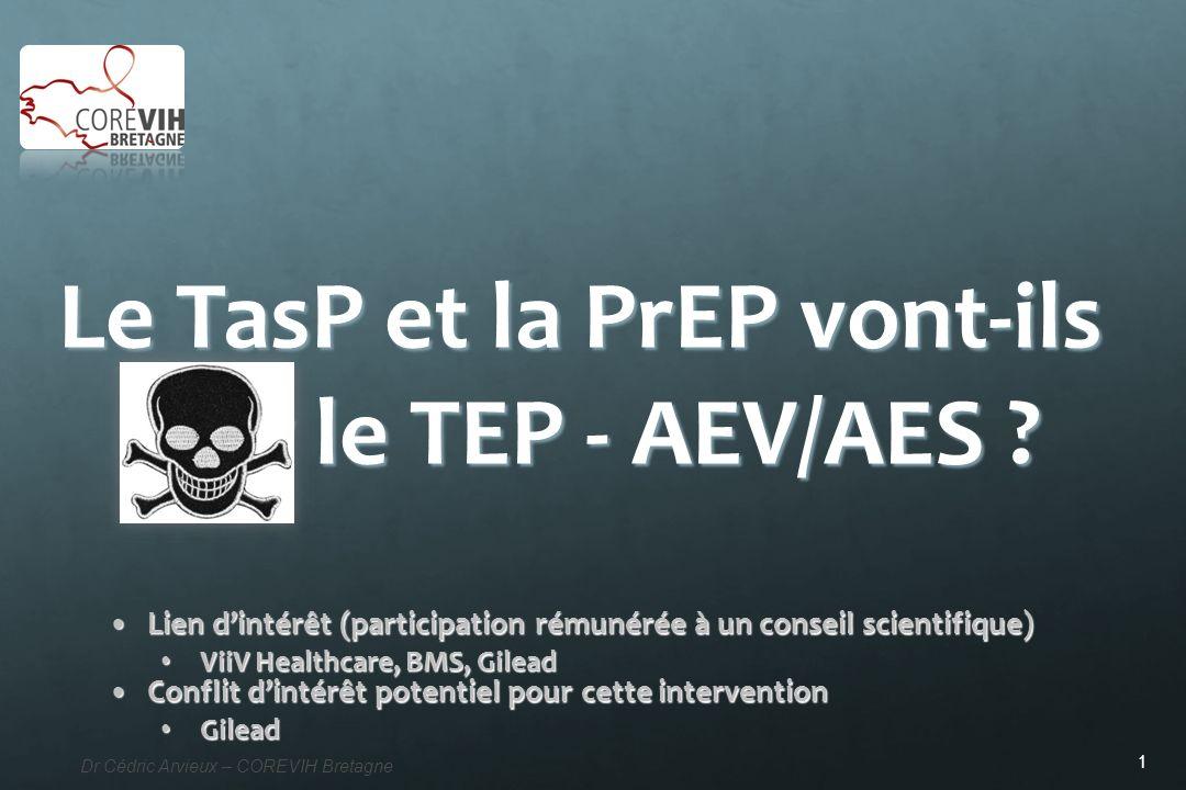 Le TasP et la PrEP vont-ils tuer le TEP - AEV/AES