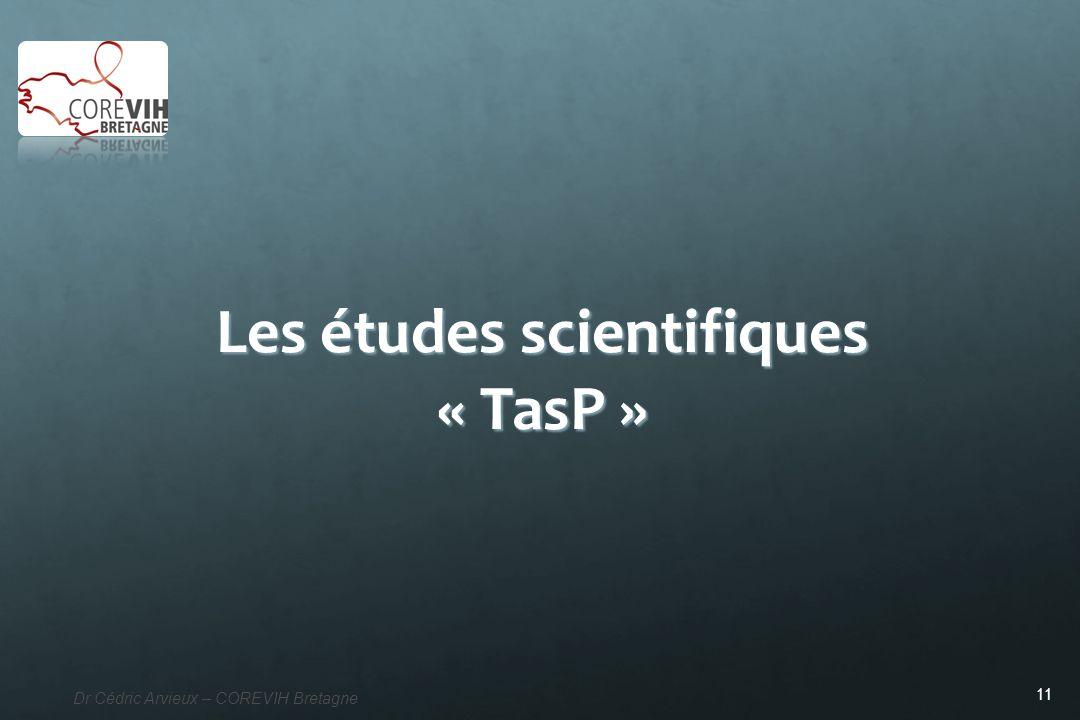Les études scientifiques « TasP »