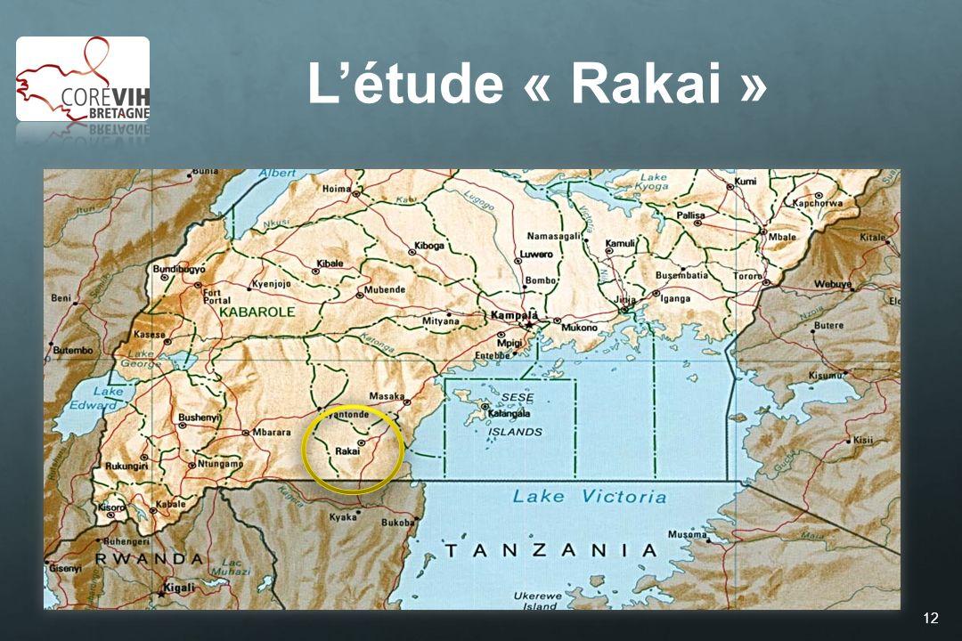 L'étude « Rakai » Quinn et al. N Engl J Med 2000;342:921-9