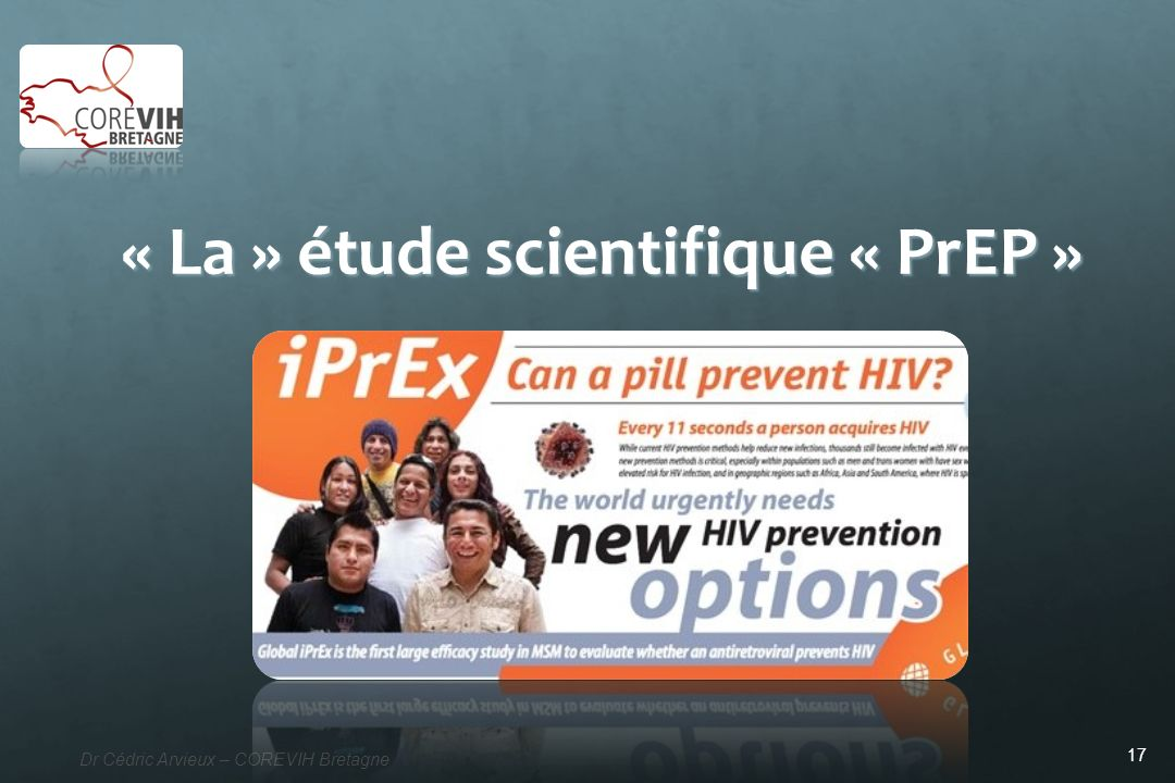 « La » étude scientifique « PrEP »