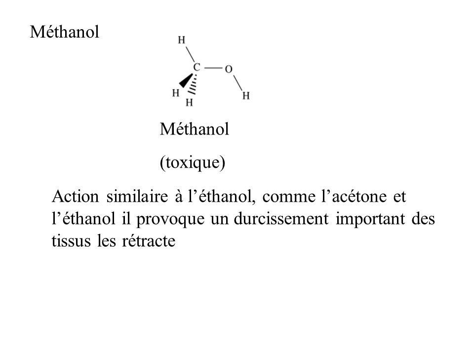 Méthanol Méthanol. (toxique)