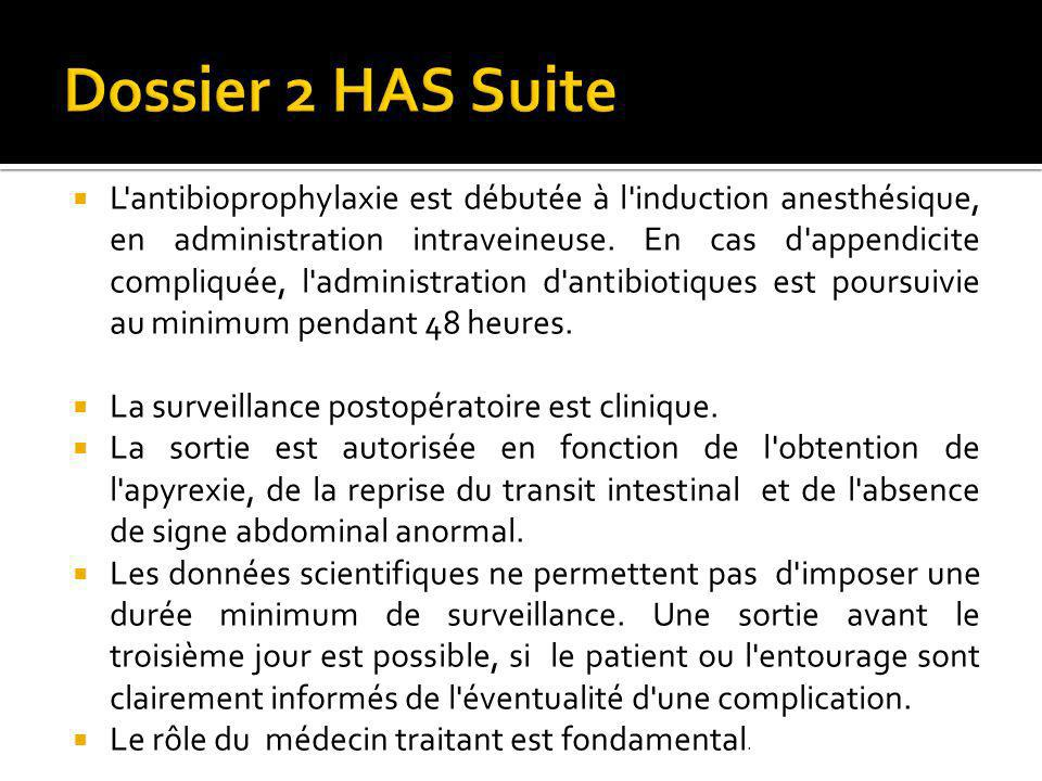 Dossier 2 HAS Suite