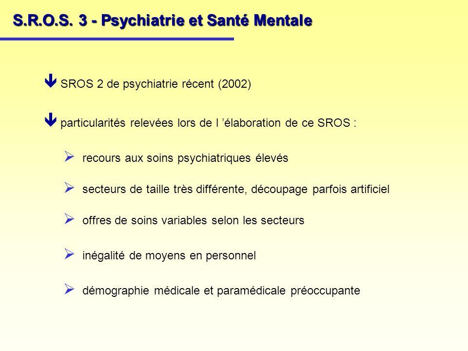 S.R.O.S. 3 - Psychiatrie et Santé Mentale