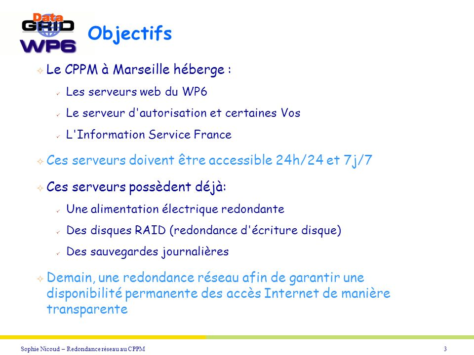 Objectifs Le CPPM à Marseille héberge :