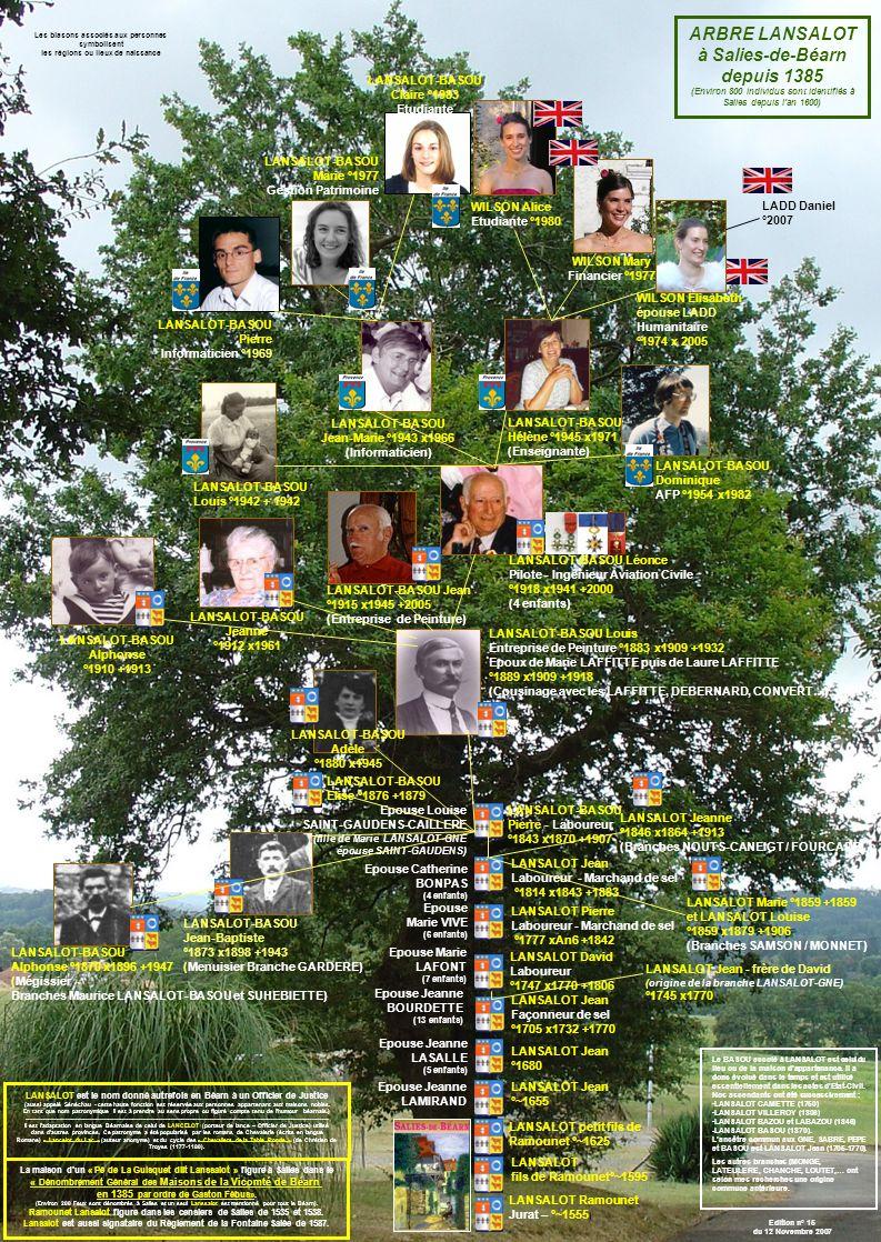 ARBRE LANSALOT à Salies-de-Béarn depuis 1385