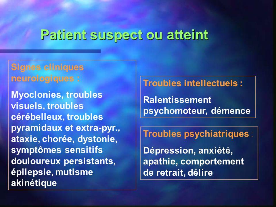 Patient suspect ou atteint
