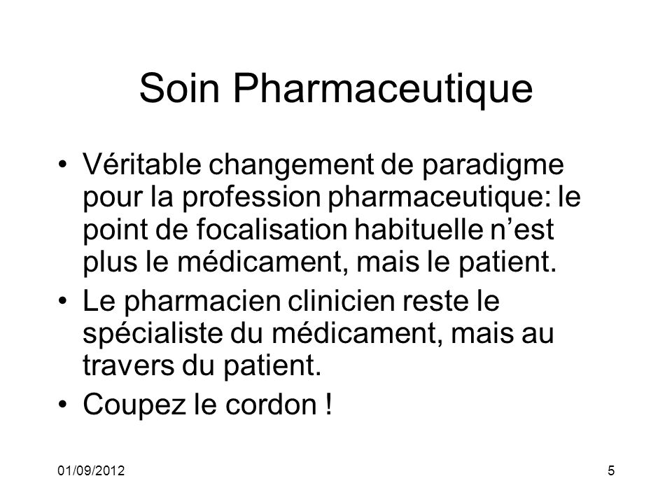 Soin Pharmaceutique