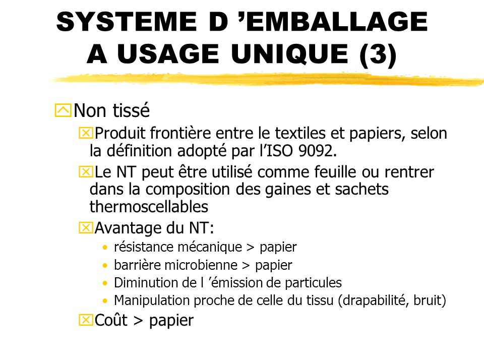 SYSTEME D 'EMBALLAGE A USAGE UNIQUE (3)