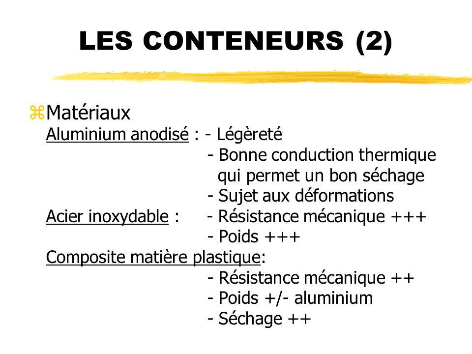 LES CONTENEURS (2)