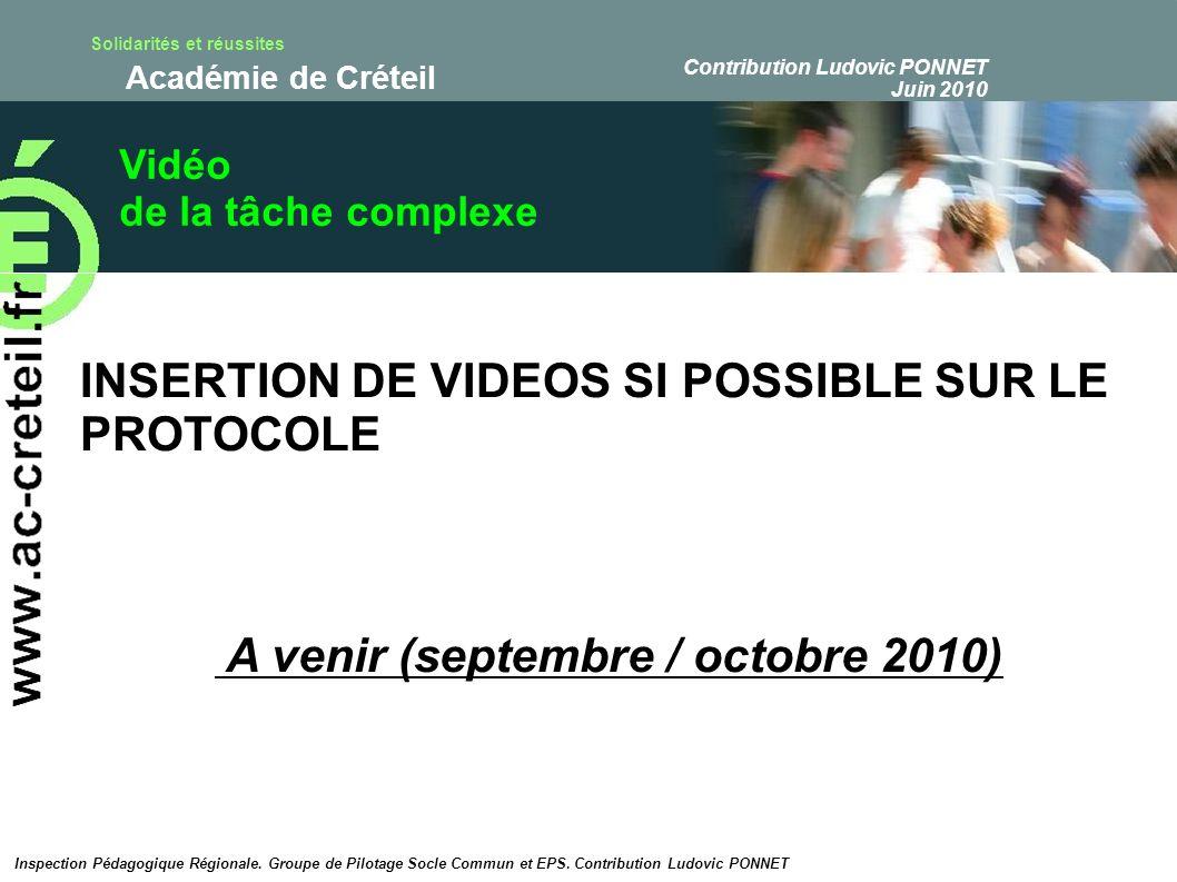 A venir (septembre / octobre 2010)