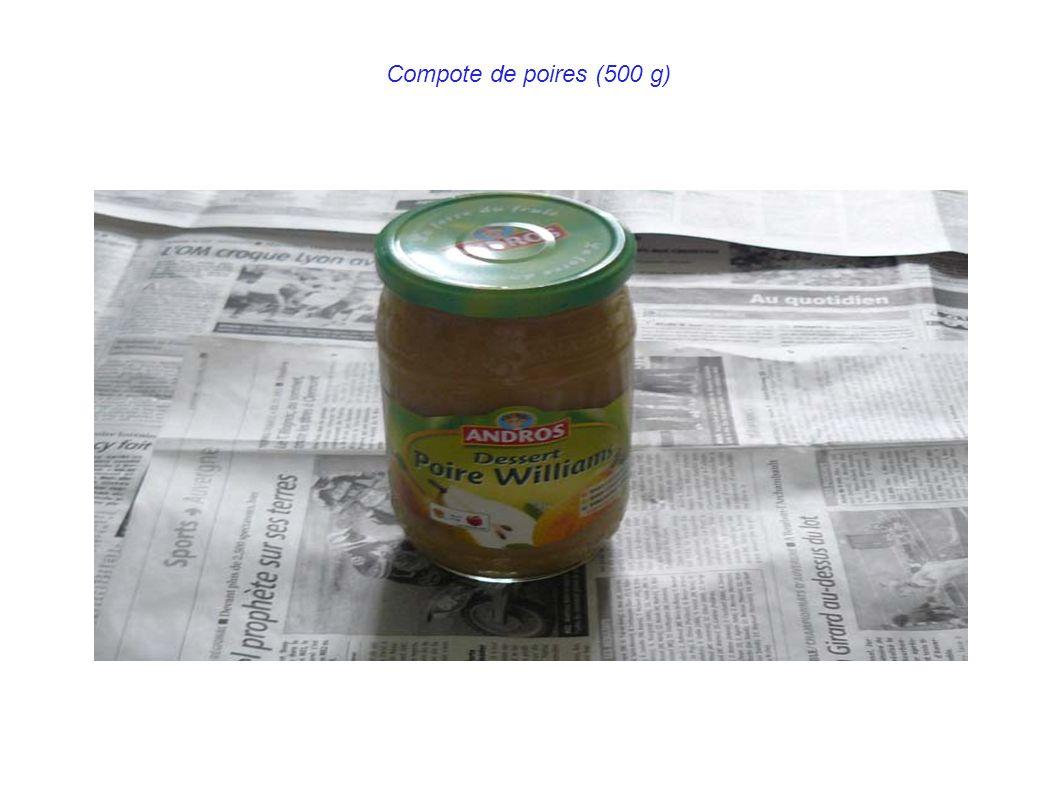 Compote de poires (500 g)