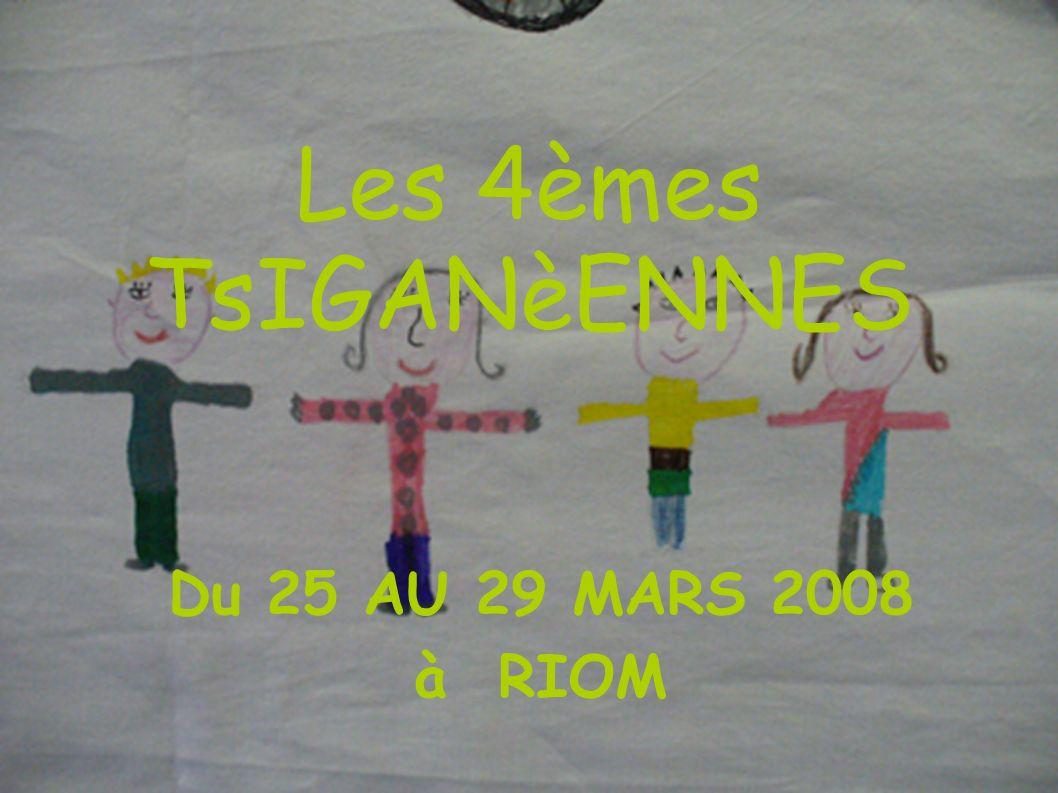 Les 4èmes TsIGANèENNES Du 25 AU 29 MARS 2008 à RIOM