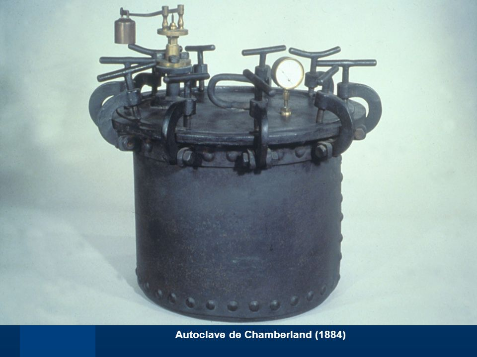Autoclave de Chamberland (1884)