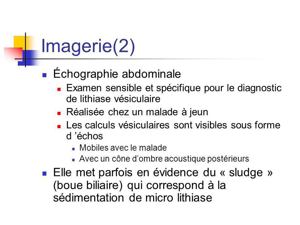 Imagerie(2) Échographie abdominale