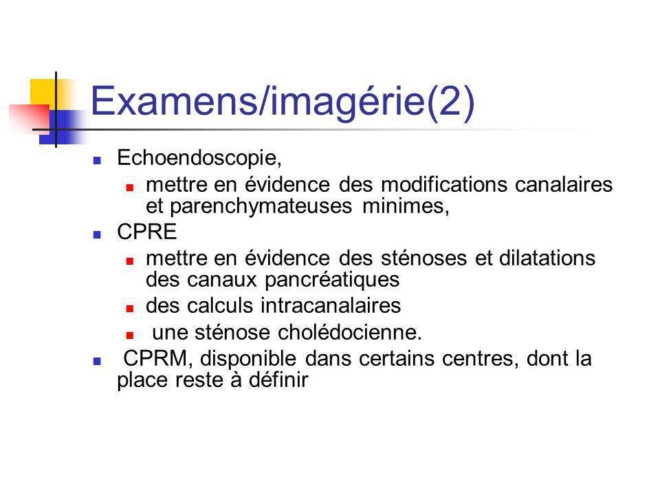 Examens/imagérie(2) Echoendoscopie,