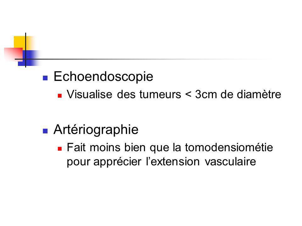 Echoendoscopie Artériographie