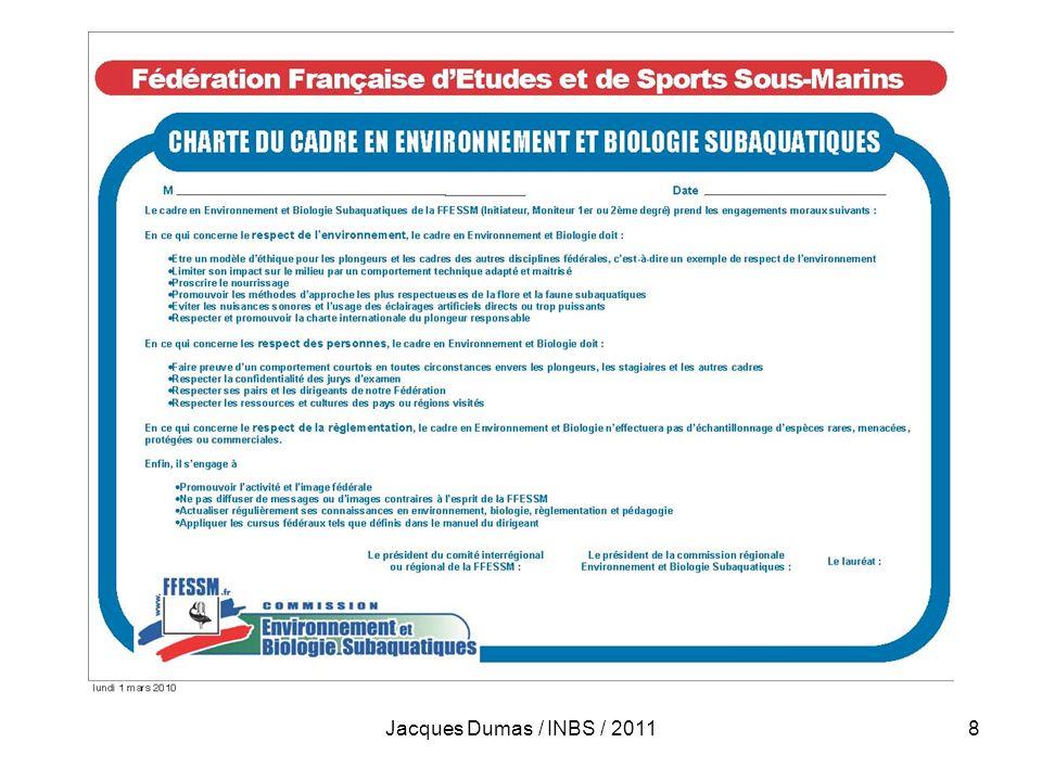 Jacques Dumas / INBS / 2011