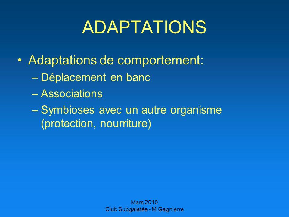 Club Subgalatée - M.Gagniarre