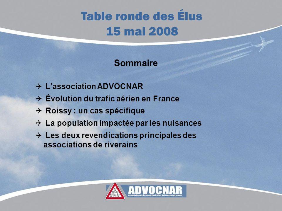 Table ronde des Élus 15 mai 2008