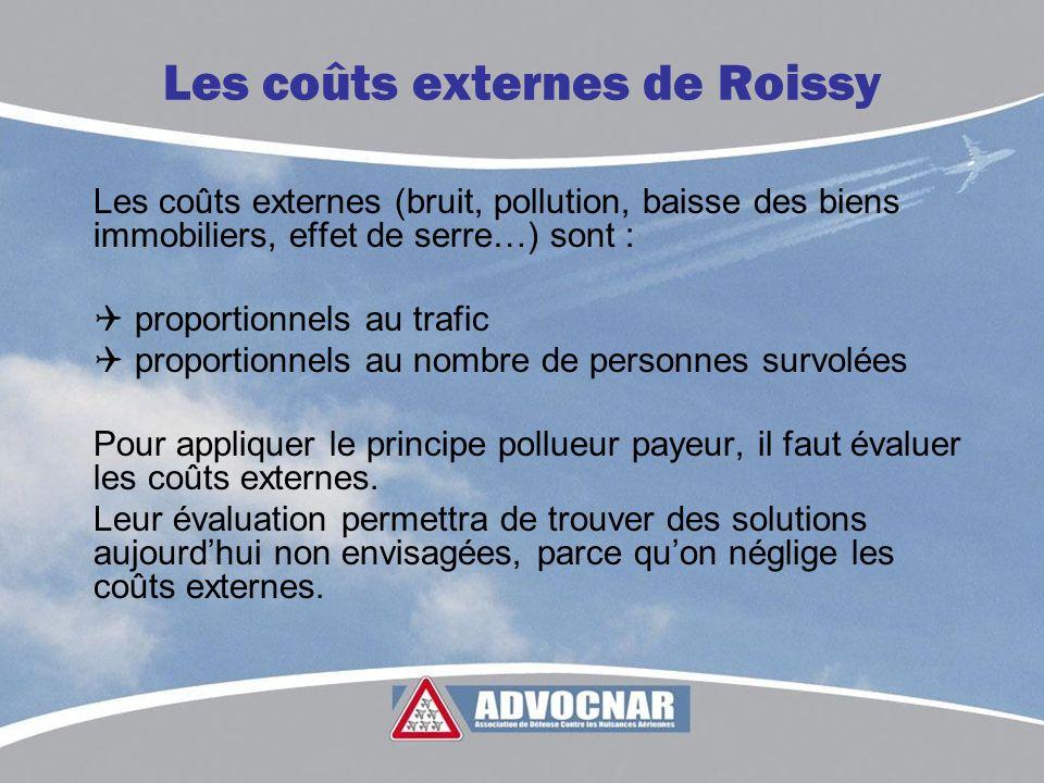 Les coûts externes de Roissy