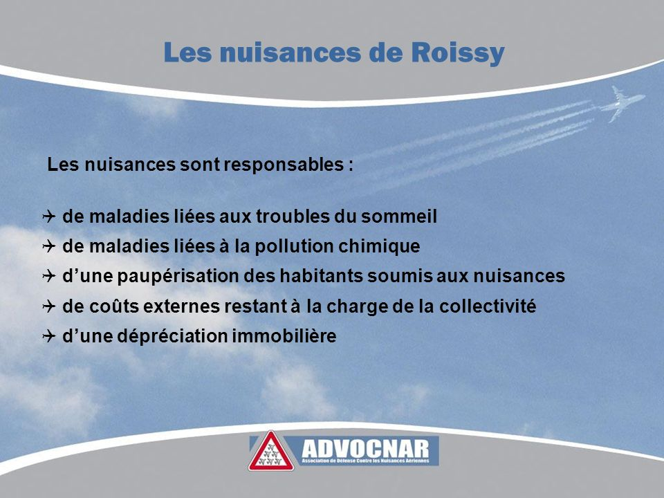 Les nuisances de Roissy