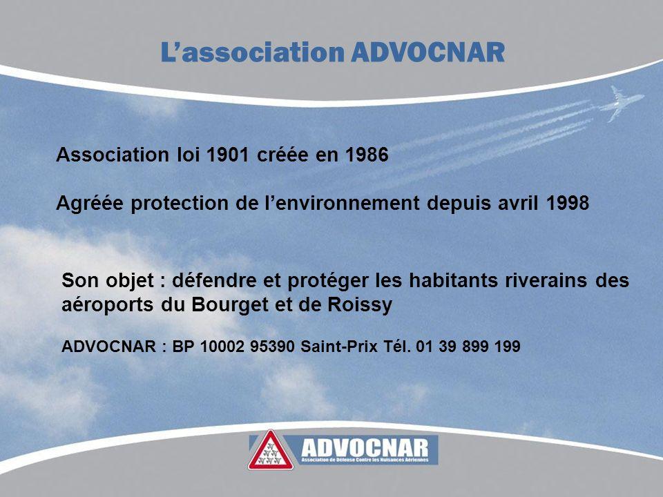 L'association ADVOCNAR