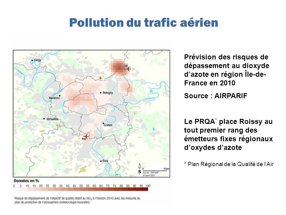 Pollution du trafic aérien