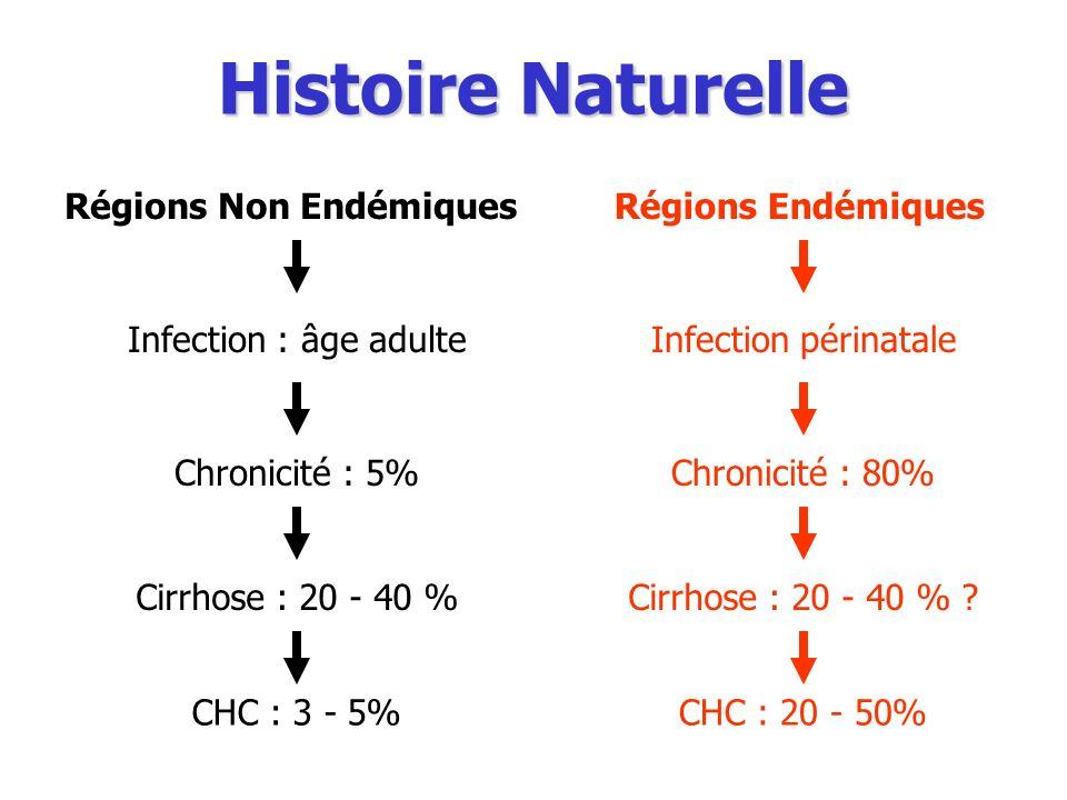 Histoire Naturelle Régions Non Endémiques Régions Endémiques