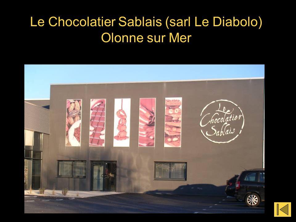 Le Chocolatier Sablais (sarl Le Diabolo) Olonne sur Mer