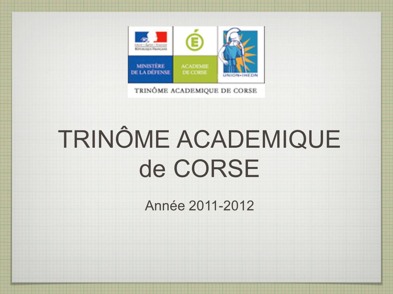 TRINÔME ACADEMIQUE de CORSE