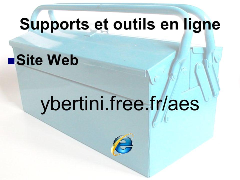 Supports et outils en ligne