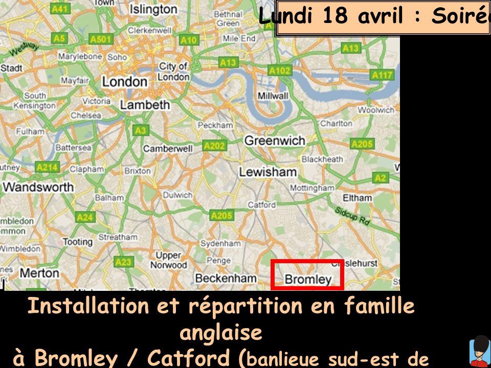 Installation et répartition en famille anglaise