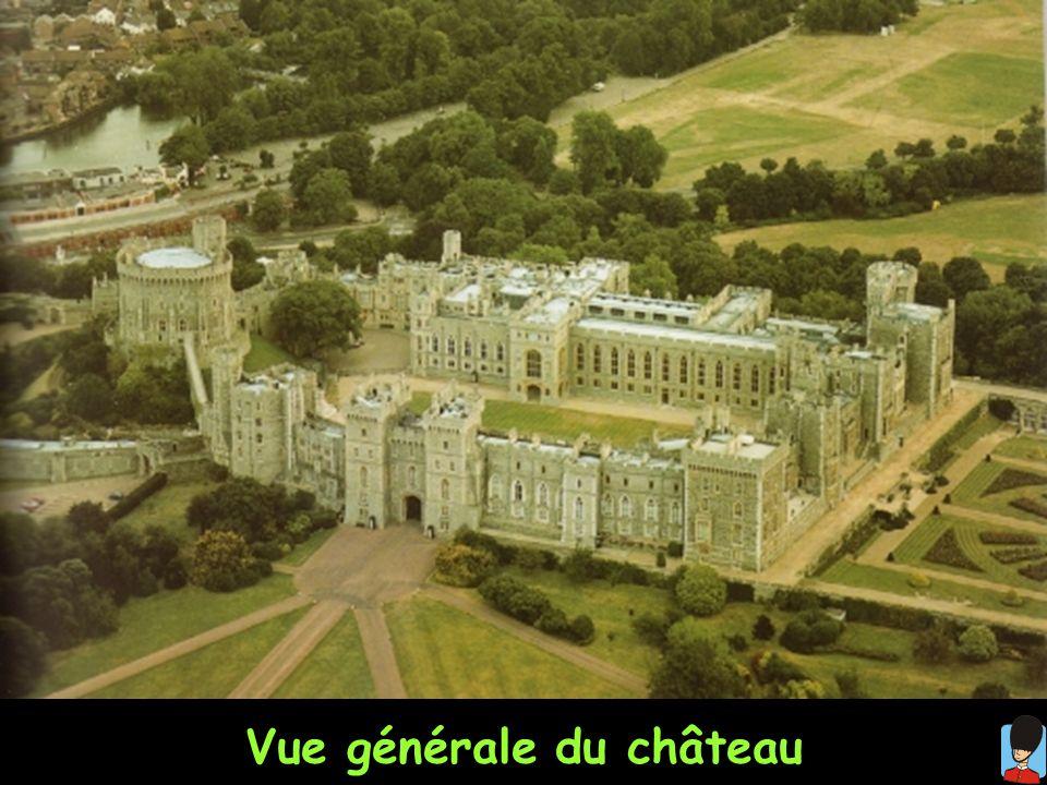 Vue générale du château