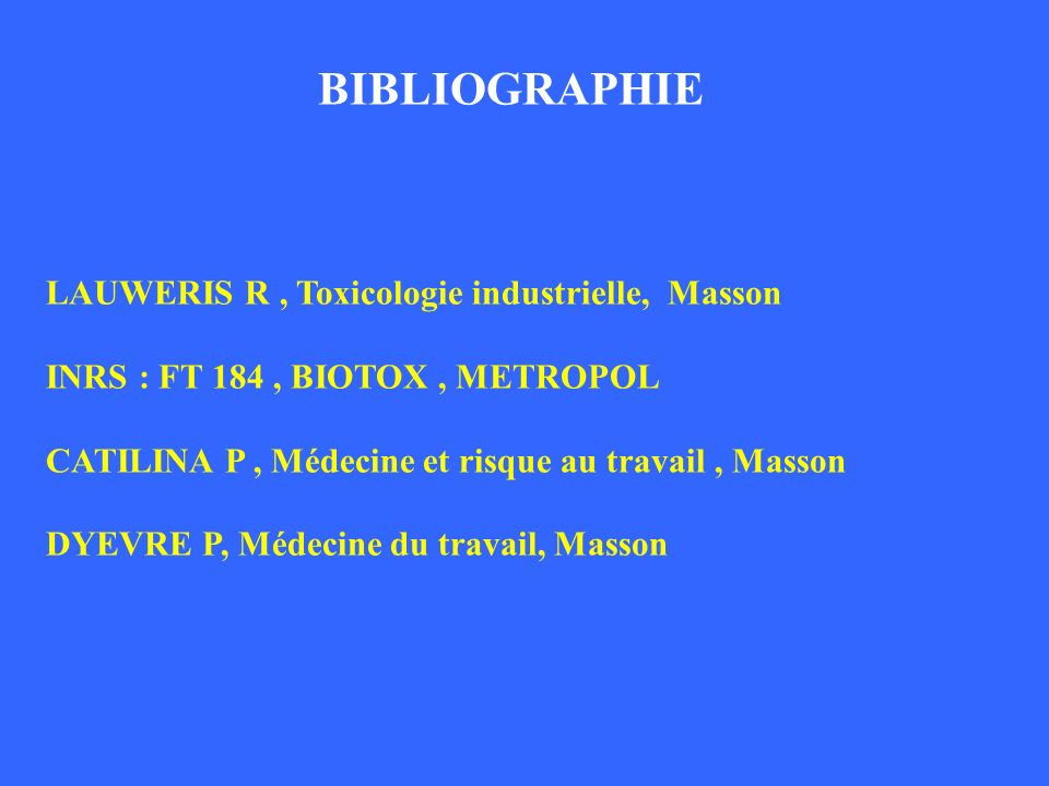 BIBLIOGRAPHIE BIBLIOGRAPHIE