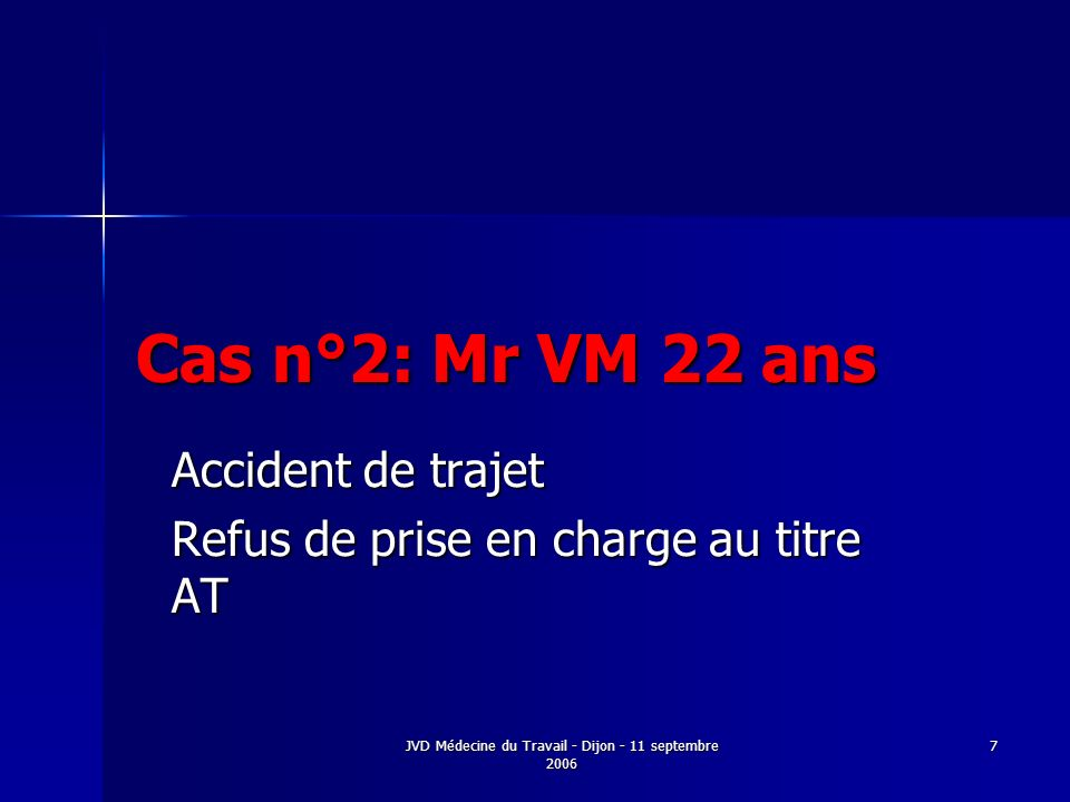 Accident de trajet Refus de prise en charge au titre AT