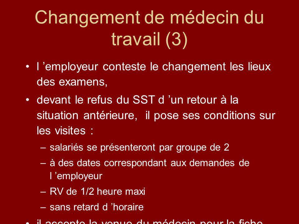 Changement de médecin du travail (3)